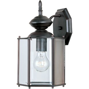 Affordable Midbury Outdoor Wall Lantern By Charlton Home