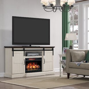 Glendora 66.5 TV Stand with Electric Fireplace by Gracie Oaks