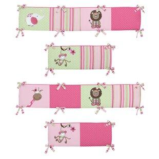 Read Reviews Jungle Friends Crib Bumper BySweet Jojo Designs