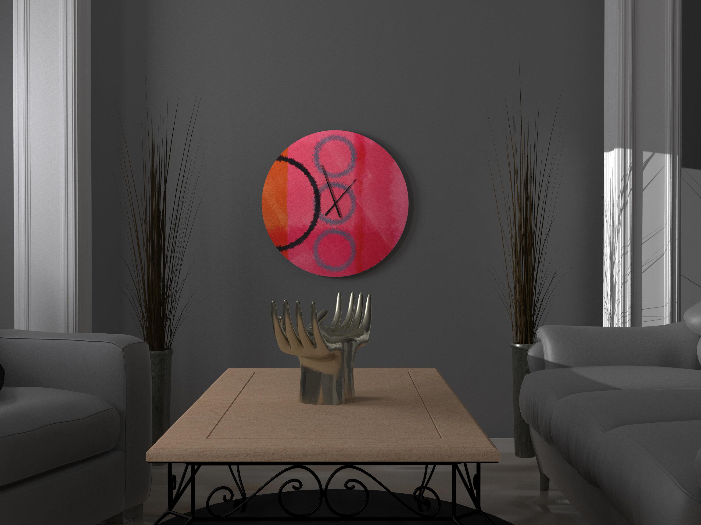 East Urban Home Elisa Wall Clock Wayfair