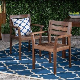 Mattera Patio Dining Chair (Set of 2)