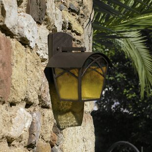 Hollier Outdoor Wall Lantern Image