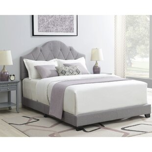 Body Camelback Upholstered Panel Bed by Charlton Home