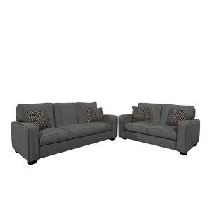 Cheriton 2 Piece Living Room Set by Latitude Run