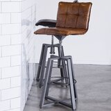 Verona Swivel Adjustable Height Bar Stool by Eleonora