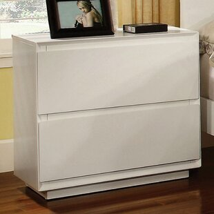 Longshore Tides Dali 2 Drawer Nightstand