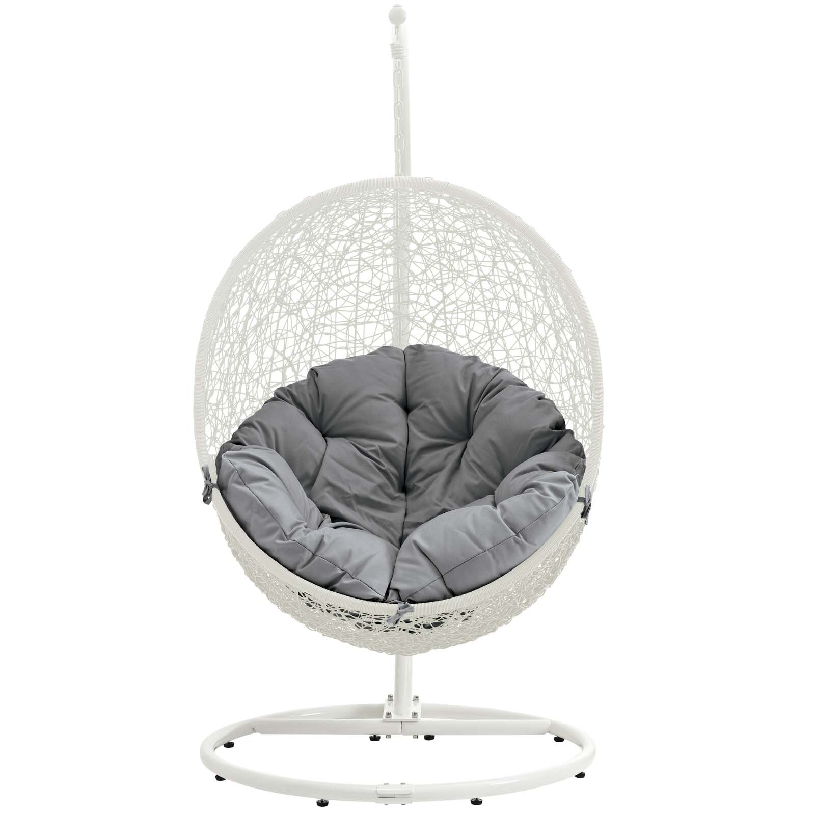 Valletta Swing Chair With Stand Reviews Allmodern