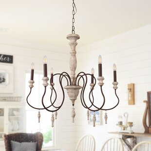 Candle Style Wood Chandeliers You Ll Love In 2021 Wayfair