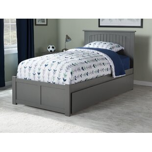 Great choice West Side Twin Platform Bed with Urban Trundle ByViv + Rae