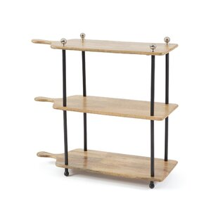 Journey 3 Tiered Etagere Bookcase