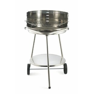 47.6cm Amandeep Charcoal Barbecue With Carrying Handle & Lower Shelf By Sol 72 Outdoor