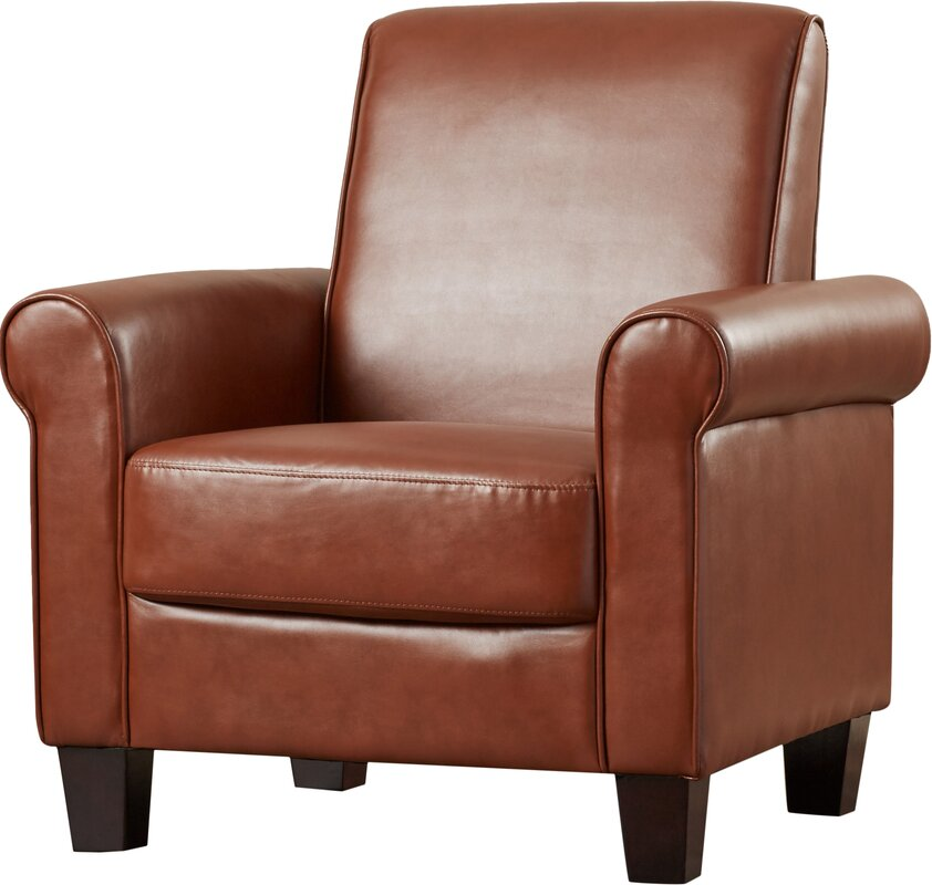 Ravenwood Faux Leather Armchair
