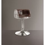 Murdoch Swivel Adjustable Height Bar Stool by 17 Stories