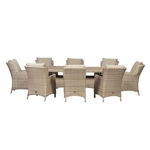 Leopold 8 Seater Dining Set With Cushion By Sol 72 Outdoor