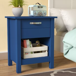 Mikel 1 Drawer Nightstand