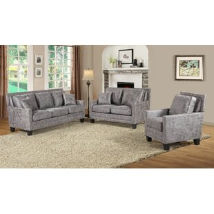 Dalley Aged 2 Piece Living Room Set by 17 Stories