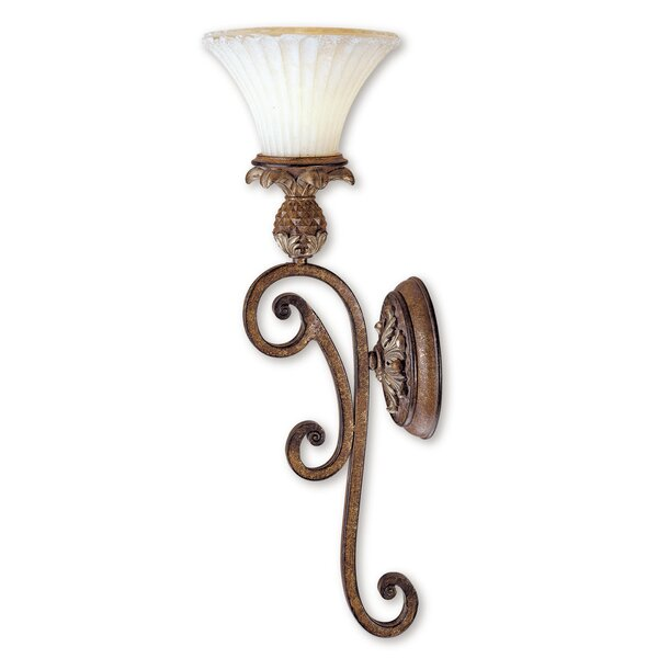 Scotland 1-Light Armed Sconce by Astoria Grand
