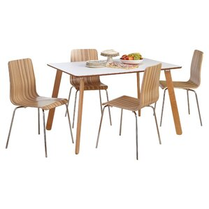 Lucile 5 Piece Dining Set by Latitude Run