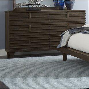 Wolak 6 Drawer Double Dresser