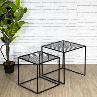 Renault 2 Piece Nest Of Tables By Bloomsbury Market