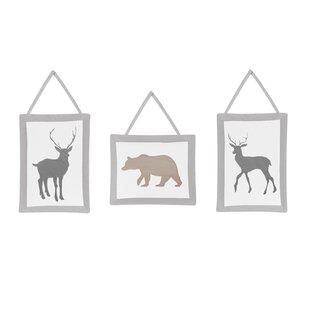 Woodland Animals 11 Piece Crib Bedding Set BySweet Jojo Designs