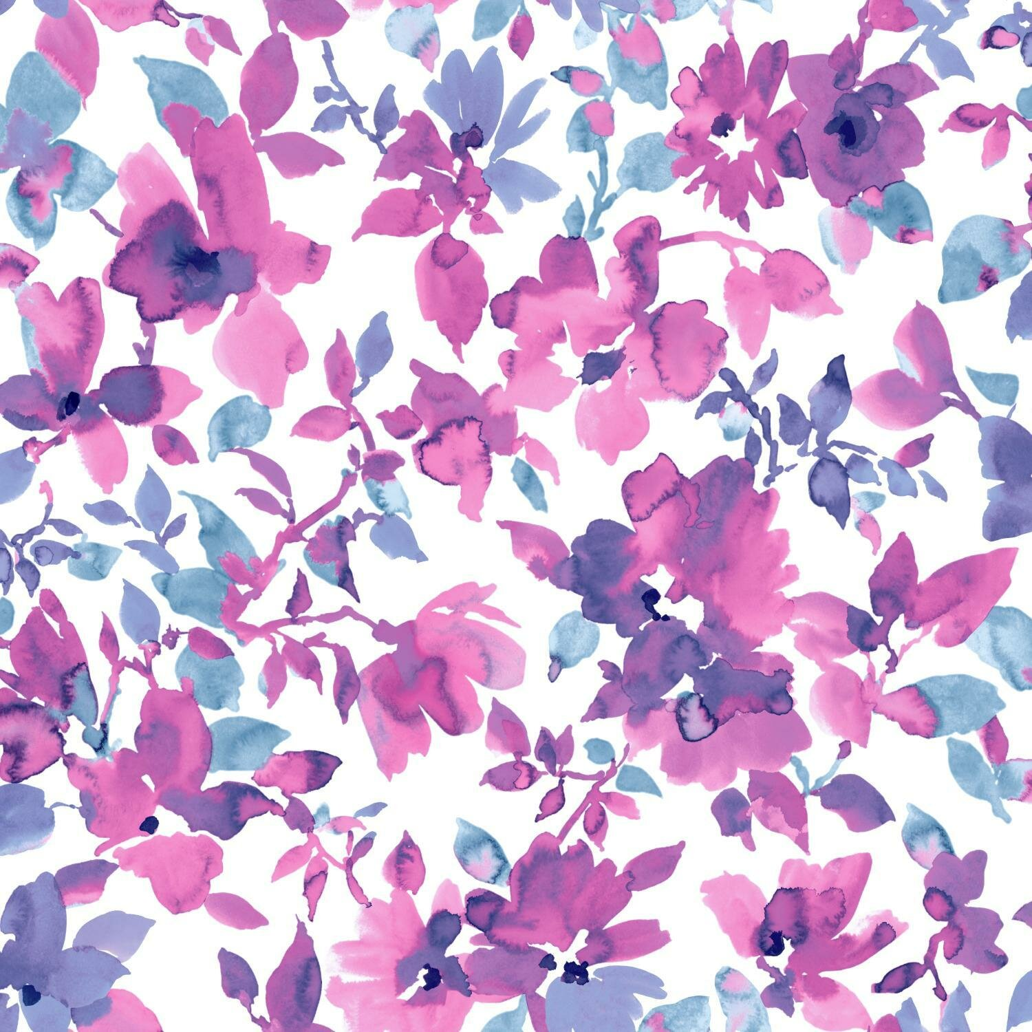 Charlton Home Clement Floral Peel And Stick Wallpaper Roll