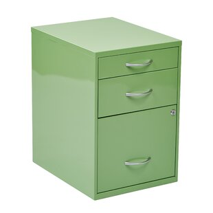 Zipcode Design Cassandra 3 Drawer Vertical Filing Cabinet