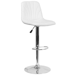 Norfleet Adjustable Height Swivel Bar Stool by Orren Ellis