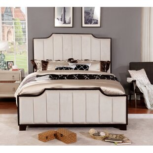 Naswith Upholstered Platform Bed By Everly Quinn