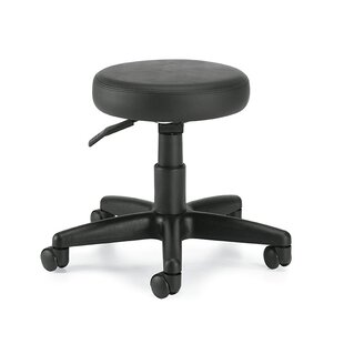 Height Adjustable Swivel Stool by Global Total Office Savings