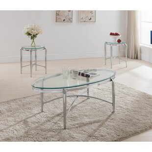 Patroclus 3 Piece Coffee Table Set