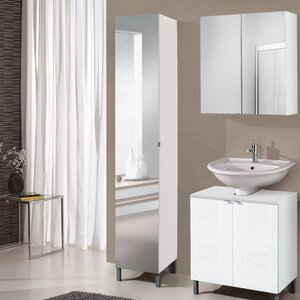 Free Standing Bathroom Cabinets Uk tall bathroom cabinets | wayfair.co.uk