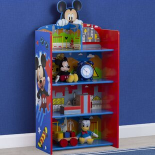 Disney Mickey Mouse Wooden Playhouse 395 Bookcase by Delta Children