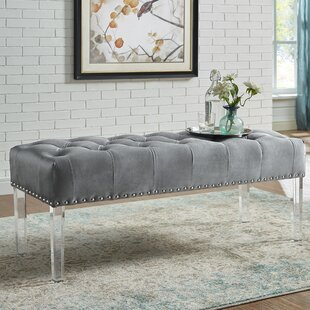 Mercer41 Kezar Upholstered Bench