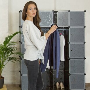 145cm Wide Clothes Storage System By Symple Stuff