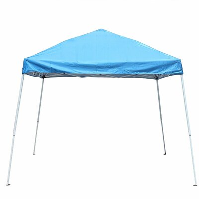 Collapsible 8 Ft. W x 8 Ft. D Steel Pop-Up Canopy ALEKO