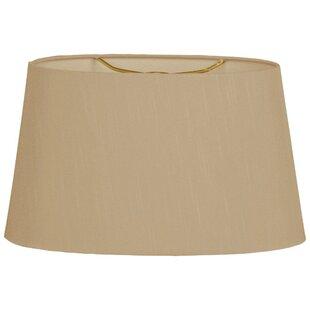 Timeless 18 Silk/Shantung Oval Lamp Shade