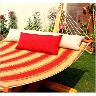 Mererid Quilted Striped Tree Hammock by Breakwater Bay Find