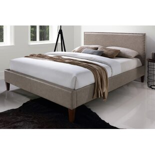 Brayden Studio Elisavet Queen Upholstered Platform Bed