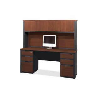 Kenworthy Computer Desk With Hutch by Ebern Designs Amazing