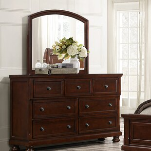 Darby Home Co Samira 7 Drawer Dresser with M..