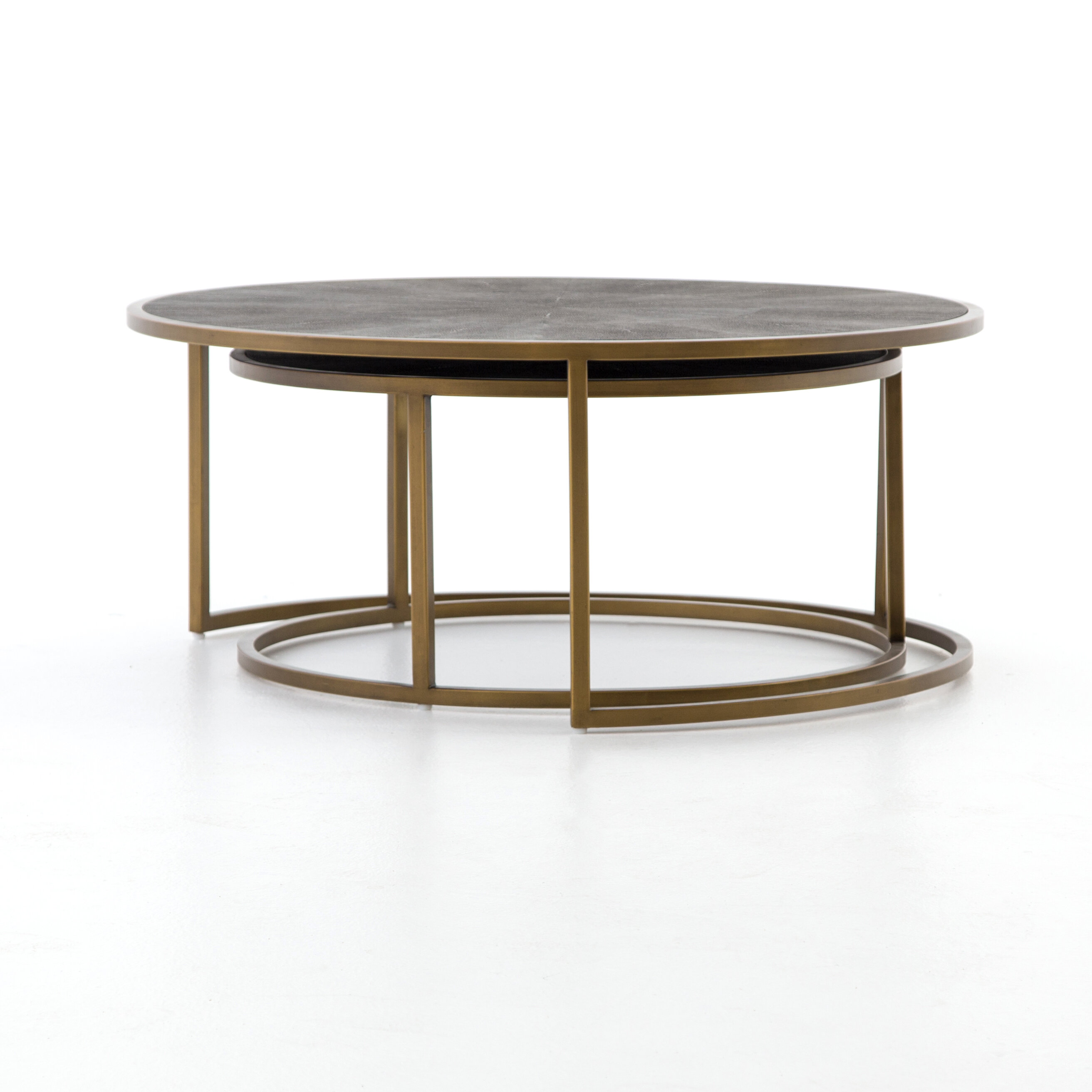 Demarcus 2 Piece Coffee Table Set