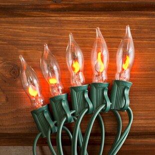 flickering flame lights wayfair