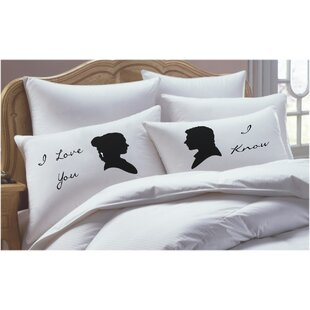 2 Piece Star Wars Inspired Pillowcase Set by RK Grace Looking for