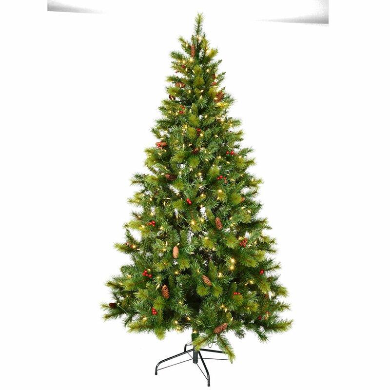 die saisontruhe k nstlicher weihnachtsbaum 183 cm gr n mit. Black Bedroom Furniture Sets. Home Design Ideas