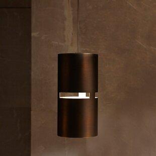 ZANEEN design Luz Oculta 1-Light Cylinder Pendant