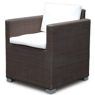 Westcott Patio Dining Chair With Cushion by Brayden Studio Purchase