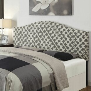 Geometric Upholstered Panel Headboard by PRI