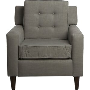 Dustin Tufted Armchair by Skyline Furniture