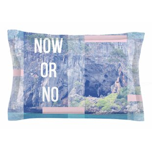 Vasare Nar 'Now or No' Mixed Media Sham